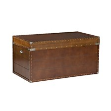 Steamer Trunk Cocktail Table, Quick Ship