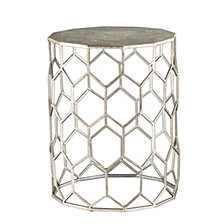 Clarissa Metal Accent Table, Quick Ship