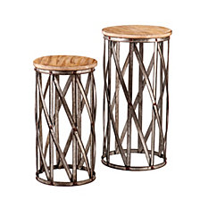 Mencino Accent Table (Set Of 2), Quick Ship