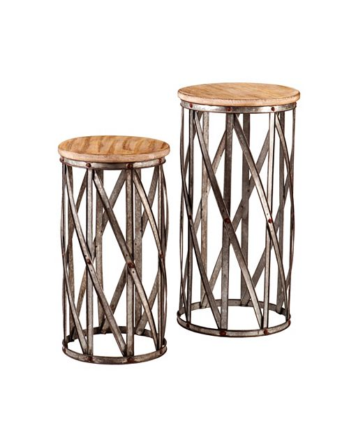 Southern Enterprises Mencino Accent Table (Set Of 2)