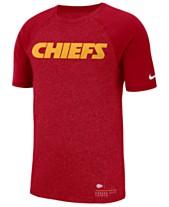 Nike Men s Kansas City Chiefs Marled Raglan T-Shirt 9deaa727e