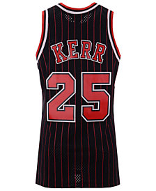 Mitchell & Ness Men's Steve Kerr Chicago Bulls Hardwood Classic Swingman Jersey