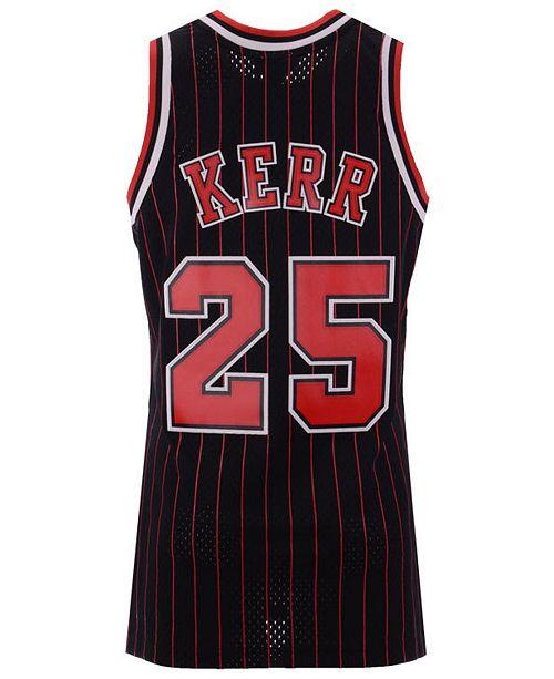 488460ee7bd ... Swingman Jersey  Mitchell   Ness Men s Steve Kerr Chicago Bulls  Hardwood Classic Swingman ...