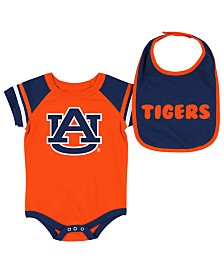 Colosseum Auburn Tigers Onesie & Bib Set, Infants (0-9 Months)