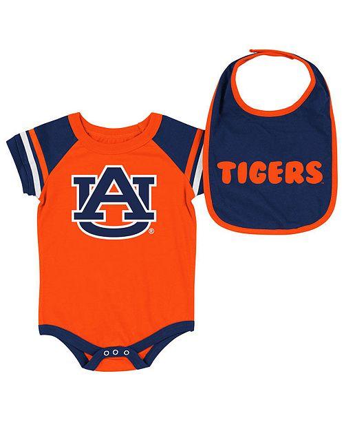 Colosseum Auburn Tigers Onesie & Bib Set, Infants (0-9 Months)