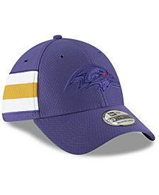 New Era Baltimore Ravens Official Color Rush 39THIRTY Stretch Fitted Cap
