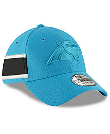 New Era Carolina Panthers Official Color Rush 39THIRTY Stretch Fitted Cap