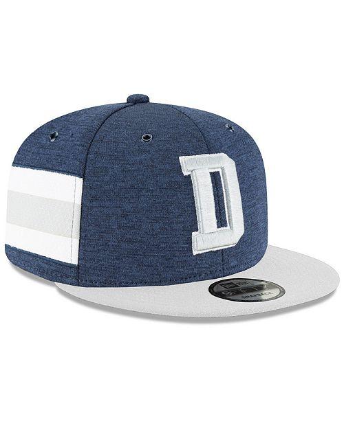 12c492f5937 ... New Era Dallas Cowboys On Field Sideline Home 9FIFTY Snapback Cap ...