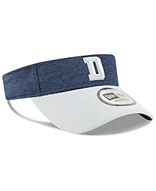 New Era Dallas Cowboys On Field Sideline Visor