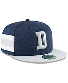New Era Boys' Dallas Cowboys On Field Sideline Home 59FIFTY Fitted Cap