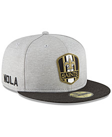 New Era Boys' New Orleans Saints Official Sideline Road 59FIFTY Fitted Cap