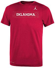Nike Oklahoma Sooners Legend Sideline T-Shirt, Big Boys (8-20)