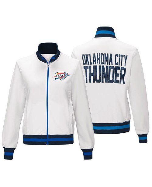 G-III Sports Women's Oklahoma City Thunder Field Goal Track Jacket