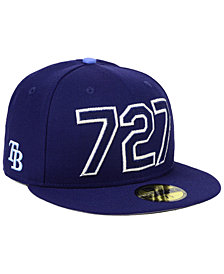 New Era Tampa Bay Rays Area Code 59FIFTY FITTED Cap
