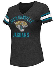 G-III Sports Women's Jacksonville Jaguars Wildcard Bling T-Shirt