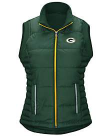 G-III Sports Women's Green Bay Packers First Down Vest