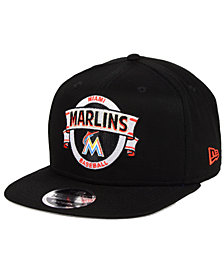 New Era Miami Marlins Banner 9FIFTY Snapback Cap