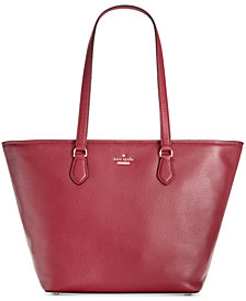 kate spade new york Jackson Street Jana Medium Pebble Leather Tote