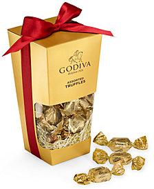 Godiva Chocolatier Chocolate Caramel Truffles Dessert Bucket