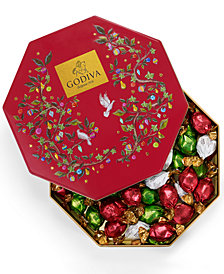 Godiva 50-Pc. Assorted Tin