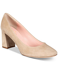 kate spade new york Beverly Block-Heel Pumps