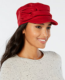Nine West Twisted Newsboy Cap