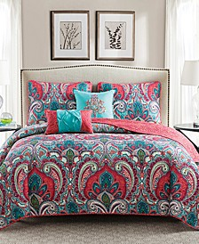 Casa Re`al Reversible Quilt Set Collection