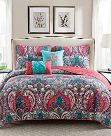 VCNY Home Casa Re`al Reversible Quilt Set Collection