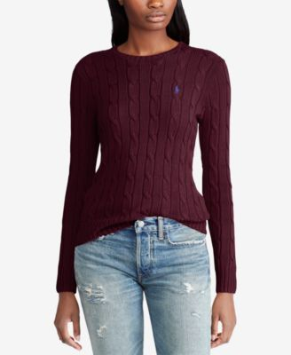 Polo Ralph Lauren Cable,Knit Cotton Sweater \u0026 Reviews