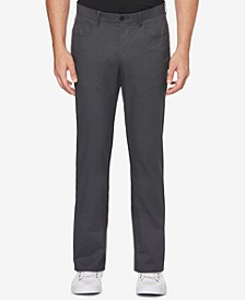 Men's Slim-Fit Textured Pants
