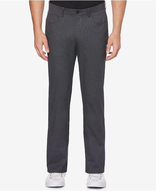 Perry Ellis Men's Slim-Fit Textured Pants