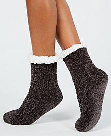Charter Club Chenille Slipper Socks, Created for Macy's
