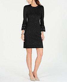 Jessica Howard Embellished Sweater Dress