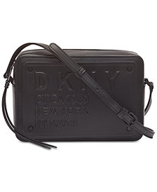 DKNY 10018 Logo Crossbody, Created for Macy's