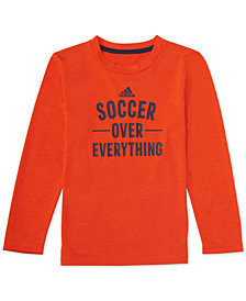 adidas Little Boys Everything-Print T-Shirt