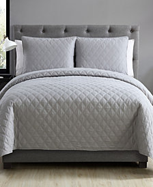 VCNY Home Buckingham Diamond Quilted Coverlet Set Collection