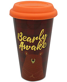 CLOSEOUT! TMD Holdings Bearly Awake Travel Mug
