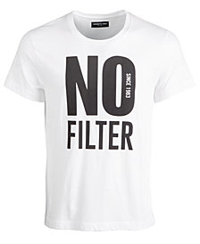 Kenneth Cole Men's No Filter Graphic T-Shirt