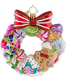 Christopher Radko Sweetest Swirl Ornament
