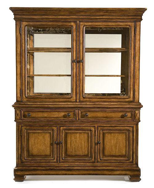 Furniture Mandara 2 Piece China Cabinet Reviews Furniture Macy S