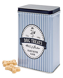 House of Barker Dog Treats Striped Tin