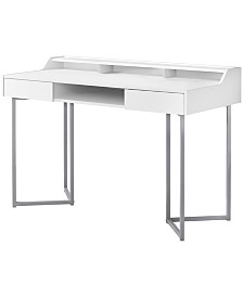 "Monarch Specialties 48""L Computer Desk in White"