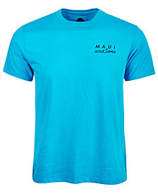 Maui and Sons Men's Cookie Logo Shirt