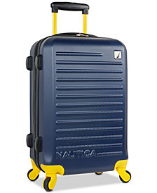 "Nautica Tide Beach 21"" Carry-On Hardside Spinner Suitcase"