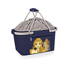 Picnic Time Disney's Beauty and the Beast Metro Basket Collapsible Cooler Tote