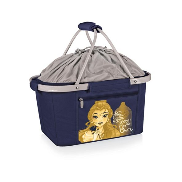 Picnic Time Oniva® by Disney's Beauty and the Beast Metro Basket Collapsible Cooler Tote