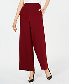 Nine West Crepe Flare Pants