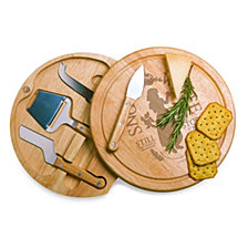 Picnic Time Disney's Snow White Circo Cheese Cutting Board & Tools Set