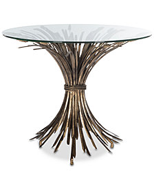 Ayris Leaf Accent Table, Quick Ship