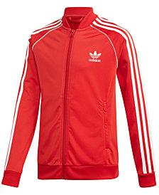 adidas Big Boys Originals Zip-Up Track Jacket